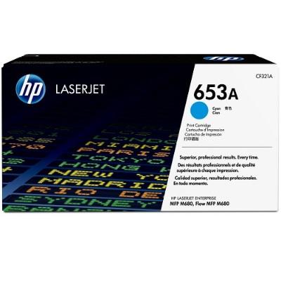 HP Inc. CF321A 653A Cyan Original LaserJet Toner Cartridge