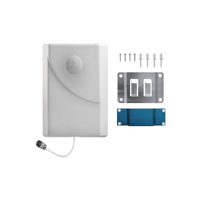 Wilson Electronics 311155 Wall Mount Panel Antenna - Cellular phone antenna - plate - indoor