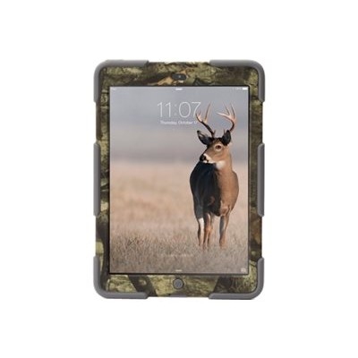 Griffin GB38137 Survivor Mossy Oak - Protective case for tablet - rugged - silicone  polycarbonate - gray  mossy oak treestand - for Apple iPad Air