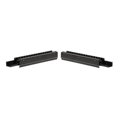 Panduit CUWBPS24ST02B1 Net-Contain Universal Aisle Containment Wall Beam - Rack roof wall beam - black (pack of 2)