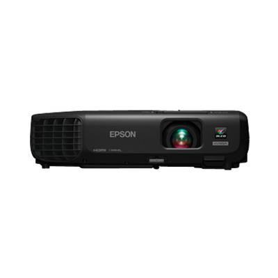 Epson V11h654120 Powerlite 1263w - Lcd Projector - 3000 Lumens - 1280 X 800 - Widescreen - Hd 720p - 802.11b/g/n Wireless With 2 Years  Road Service Program