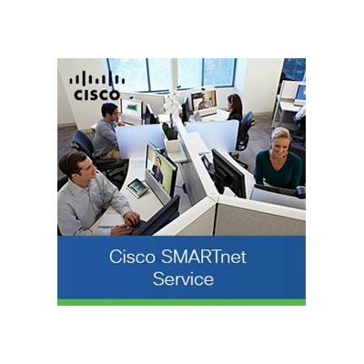 Cisco CON-3SNT-MGXVISMP1 SMARTnet - Extended service agreement - replacement - 3 years - 8x5 - response time: NBD - for P/N: MGX-VISM-PR-8E1  MGX-VISM-PR-8E1=
