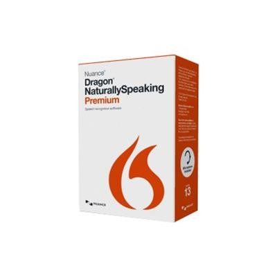 Nuance Communications K609A-F00-13.0 Dragon NaturallySpeaking Premium - (v. 13) - box pack - 1 user - academic - DVD - Win - English - United States