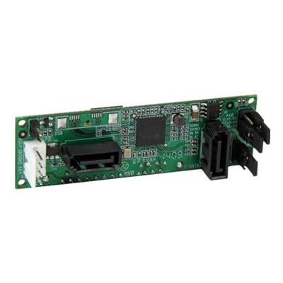 StarTech.com S322SAT3R SATA Dual Hard Drive RAID Adapter - Internal SATA Connector to Dual SATA HDD RAID Controller Card - Drive Mounted