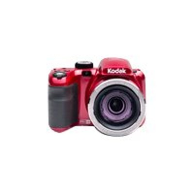 Kodak AZ421-RD PIXPRO Astro Zoom AZ421 - Digital camera - compact - 16.15 MP - 720p / 30 fps - 42x optical zoom - red
