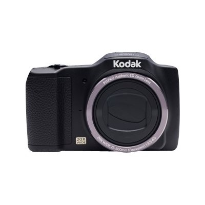 Kodak FZ201-BK PIXPRO Friendly Zoom FZ201 - Digital camera - compact - 16.15 MP - 720p - 20x optical zoom - black