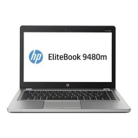 HP Smart Buy EliteBook Folio 9480m Intel Core i5-4310U Dual-Core 1.90GHz Notebook PC - 4GB RAM, 256GB SSD, 14