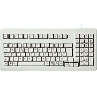 Cherry G80-1800LPCEU-0 Classic Line G80-1800 - Keyboard - PS/2  USB - English - US - light gray