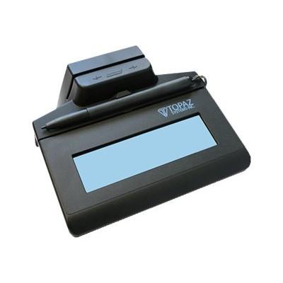 Topaz System TM-LBK460-HSB-R SigLite LCD 1X5 - Signature terminal w/ LCD display - 4.4 x 1.3 in - wired - USB
