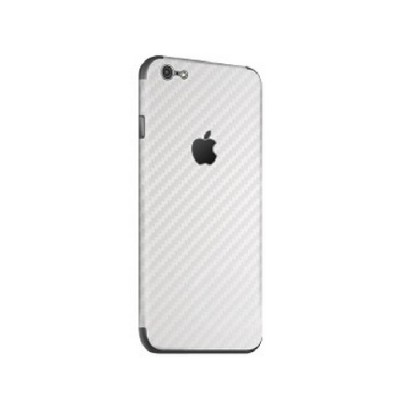 NLU Products DFAFW-API65-9A0 Armor Carbon Fiber for iPhone 6 Plus - White