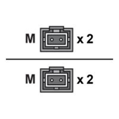 Axiom Memory MTMTMD6O-9M-AX Network cable - MT-RJ multi-mode (M) to MT-RJ multi-mode (M) - 30 ft - fiber optic - 62.5 / 125 micron - OM1 - riser - orange