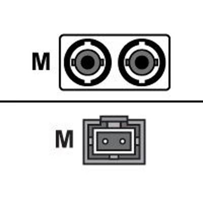 Axiom Memory STMTMD6O-20M-AX AX - Network cable - MT-RJ multi-mode (M) to ST multi-mode (M) - 66 ft - fiber optic - 62.5 / 125 micron - OM1 - riser - orange