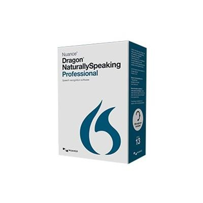 Nuance Communications A209A-F00-13.0 Dragon NaturallySpeaking Professional - (v. 13) - box pack - 1 user - academic - DVD - Win - English - United States