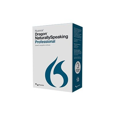 Nuance Communications A289A-RD7-13.0 Dragon NaturallySpeaking Professional - (v. 13) - box pack (upgrade) - 1 user - upgrade from ver. 11 or later - DVD - smart