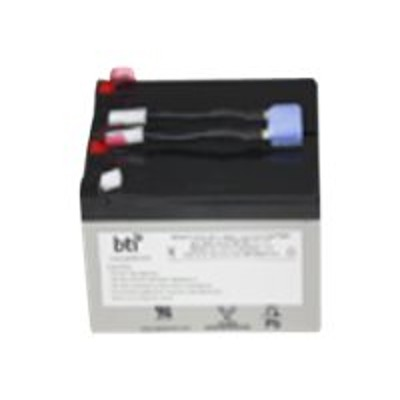 Battery Technology inc RBC9-SLA9-BTI Replacement Battery #9 for APC - UPS battery - 1 x lead acid - for P/N: SU700RM  SU700RMNET