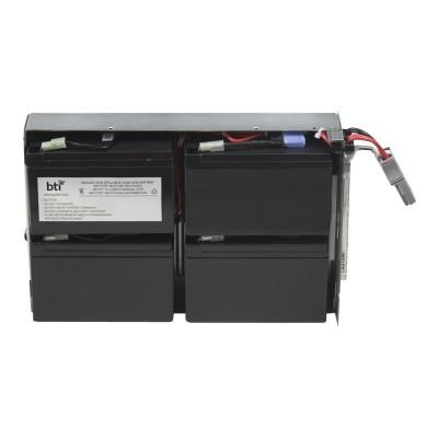 Battery Technology inc APCRBC132-SLA132 Replacement Battery #132 for APC - UPS battery - 1 x lead acid - for P/N: SMC1500-2U  SMC1500I-2U  SMT1000RM2U  SMT1000R