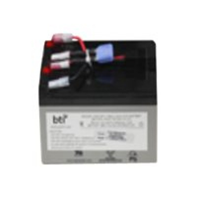 Battery Technology inc RBC47-SLA47-BTI Replacement Battery #47 for APC - UPS battery - 1 x lead acid - for APC SurgeArrest + Battery Backup 325VA