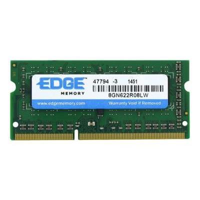 Edge Memory PE243791 Memory - DDR3L - 2 GB - SO-DIMM 204-pin - 1600 MHz / PC3L-12800 - 1.35 V - unbuffered - non-ECC