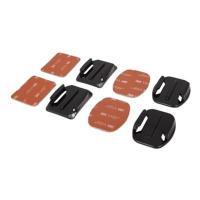 Urban Factory UGP01UF Flat & Curved - Support system - adhesive mount - for GoPro HD HERO  HD HERO2  HERO3  HERO3+