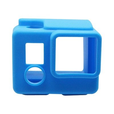 Urban Factory UGP27UF Protective cover for camcorder - silicone - blue - for GoPro HERO3  HERO3+