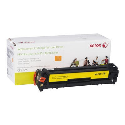 Xerox 006R03184 Yellow Toner Cartridge Replacement for HP CF212A for use with HP Color LaserJet Pro M251  LaserJet Pro 200 M251  200 M276  MFP M276