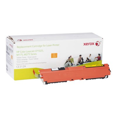 Xerox 106R02259 Yellow Toner Cartridge Replacement for HP CE312A for use with HP Color LaserJet Pro CP1025  LaserJet Pro MFP M175  TopShot LaserJet Pro M275