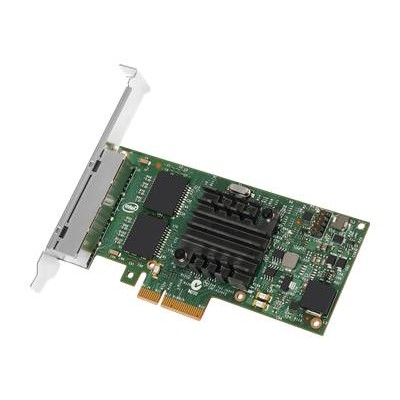 Intel I350T4V2BLK Ethernet Server Adapter I350-T4 - Network adapter - PCIe 2.1 x4 low profile - 1000Base-T x 4