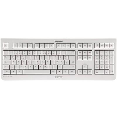 Cherry JK-0800EU-0 KC 1000 - Keyboard - English - US - light gray