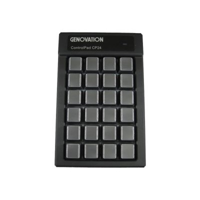 Genovation CP24-USBHID Controlpad CP24 - Keypad - USB - black