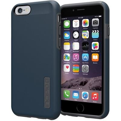Incipio IPH-1179-NVYGRY DualPro Case for iPhone 6s & 6 - Navy Blue / Charcoal