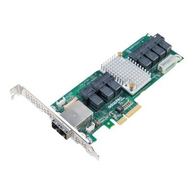 Adaptec 2283400-R 82885T - Storage SAS bus extender - 36 Channel - SATA 6Gb/s / SAS 12Gb/s low profile - 1.2 GBps - PCIe x4