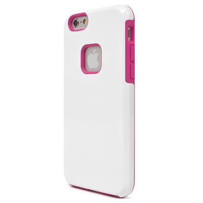 iLuv Creative Technology AI6PREGAWH Regatta Dual-layer Case for iPhone 6s Plus & iPhone 6 Plus - White