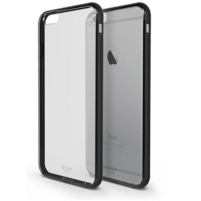 iLuv Creative Technology AI6PVYNEBK Vyneer Dual Material Protection Case for iPhone 6s Plus & iPhone 6 Plus - Black