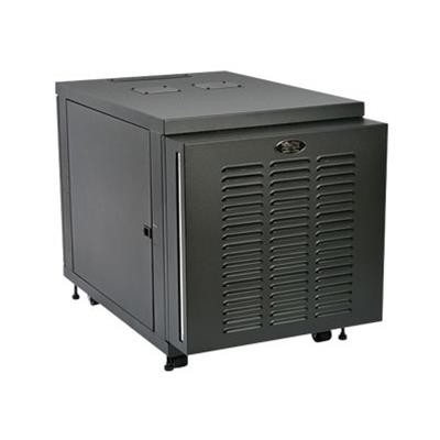 TrippLite SR12UBFFD 12U Industrial Rack Enclosure Server Cabinet with Doors & Sides 1000lb Capacity