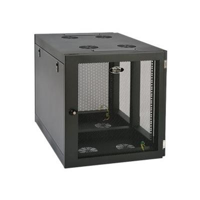 TrippLite SRW12UHD 12U Wall Mount Rack Enclosure Cabinet Wallmount Heavy-Duty Side Mount 500lb Capacity
