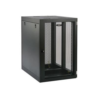 TrippLite SRW18UHD 18U Wall Mount Rack Enclosure Cabinet Wallmount Heavy-Duty Side Mount 500lb Capacity