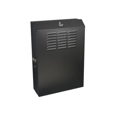 TrippLite SRWF5U36 5U Wall Mount Rack Enclosure Cabinet Vertical Wallmount 36 Deep Equipment 150lb Capacity