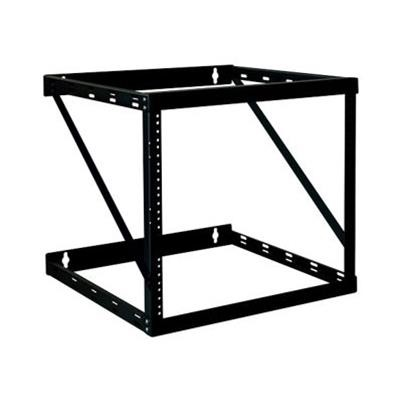 TrippLite SRWO12UHD 12U 2-Post Wall Mount Open Frame Rack Cabinet Wallmount Heavy Duty 200lb Cap