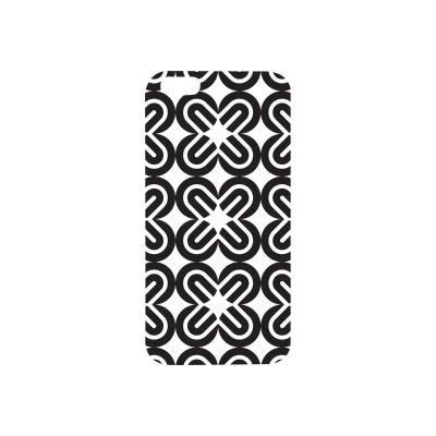 Centon IP6V1WG-BOW-01 OTM Prints Series - Back cover for cell phone - white  black on white mirrors - for Apple iPhone 6