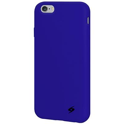 Amzer AMZ97334 Silicone Skin Jelly Case - Blue for iPhone 6 Plus - iPhone - Blue - Smooth - Silicone