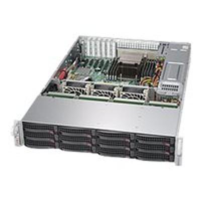 Super Micro SSG-5028R-E1CR12L Supermicro SuperStorage Server 5028R-E1CR12L - Server - rack-mountable - 2U - 1-way - RAM 0 MB - SAS - hot-swap 3.5 - no HDD - AST