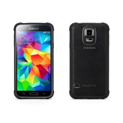 Griffin GB39905-2 Survivor Core Case Cover For Samsung Galaxy S5 - Black/Clear