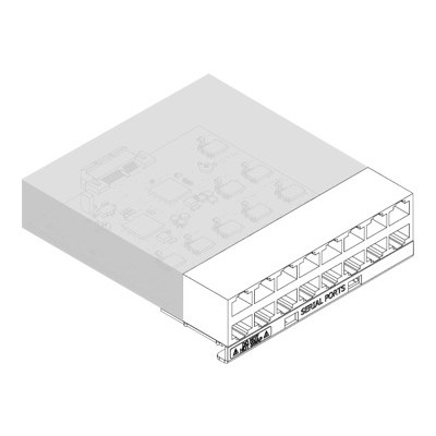 Lantronix FRRJ451601 SLC 8000 16 Device Port RJ45 I/O Module - Expansion module - RS-232 x 16