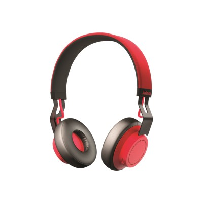 Jabra 100-96300002-02 Move Wireless Bluetooth Headphones - Red