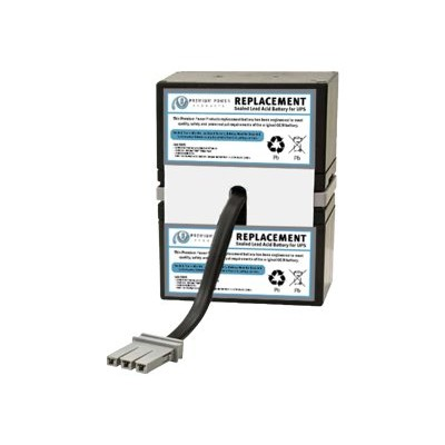eReplacements SLA33-ER RBC33-SLA33-ER - UPS battery - 1 x lead acid - for P/N: BR1100CI  BR1100CI-As  BR1100CI-IN  BR650CI  BR650CI-RS  BT1500  BT1500BP  SN1000