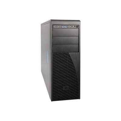 Intel P4304XXMFEN2 Server Chassis P4304XXMFEN2 - Tower - 4U - SSI EEB 550 Watt - cosmetic black - USB