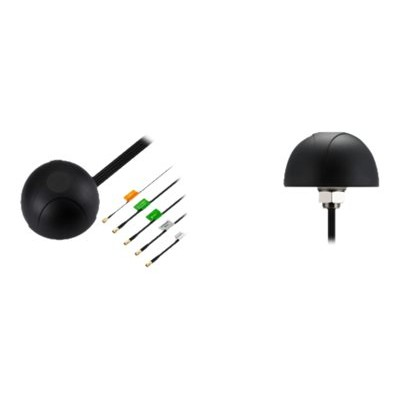 CradlePoint 170654-000 5-in-1 - GPS / GLONASS / cellular phone / Wi-Fi antenna - outdoor - LTE