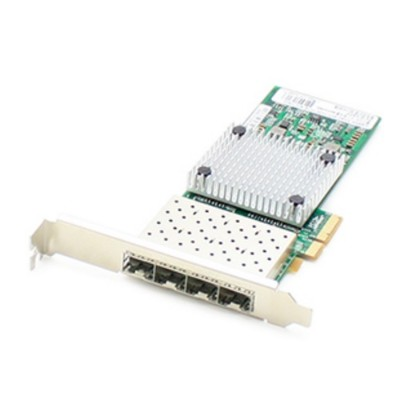 AddOn Computer Products ADD PCIE 4SFP 1Gbs Quad Open SFP Port PCIe x4 Network Interface Card