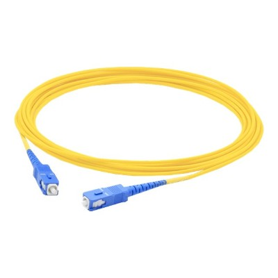 AddOn Computer Products ADD SC SC 2MS9SMF 2m Single Mode fiber SMF Simplex SC SC OS1 Yellow Patch Cable