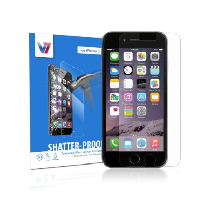 V7 PS500-IPHN6TPG-3N Shatter-Proof Tempered Glass Screen Protector for iPhone 6 & 6s 13319884